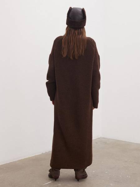 Bilde av BY MALENE BIRGER FAVINE DRESS CHESTNUT