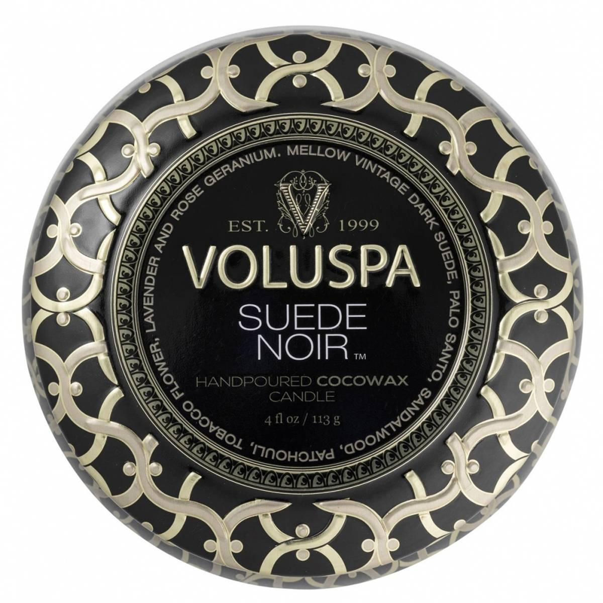 VOLUSPA SUEDE NOIR 25T