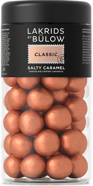 Bilde av CLASSIC – SALT & CARAMEL CHOCOLATE COATED LIQUORICE REGULAR